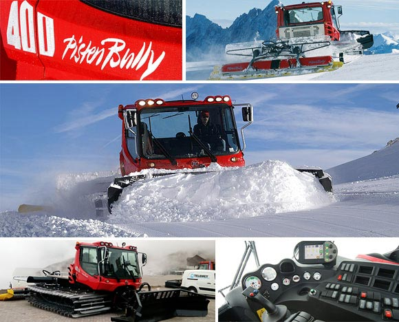 Valle Nevado ski area receives its first Pisten Bully 400