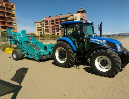 5 BeachTech machines were ordered by several Chilean municipalities
