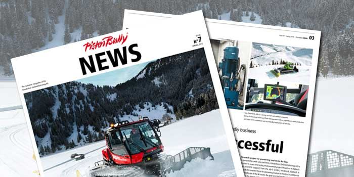 PistenBully News