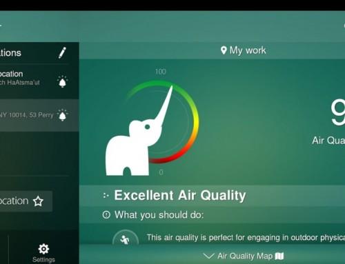 AccuWeather extiende su asociación con el principal provedor mundial de calidad de aire, BreezoMeter