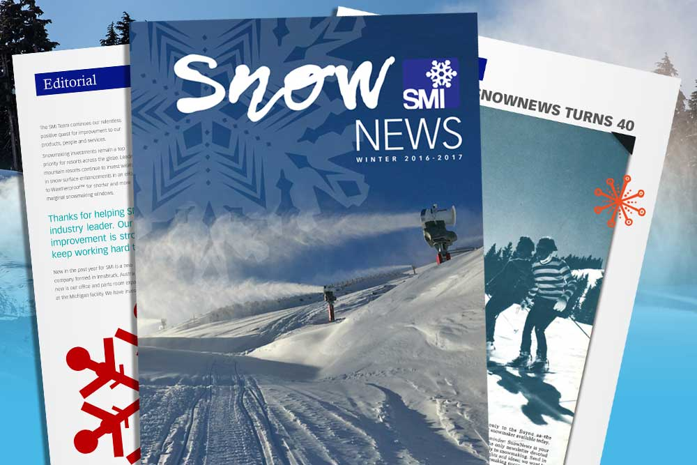 """SnowNews"" SMI magazine"