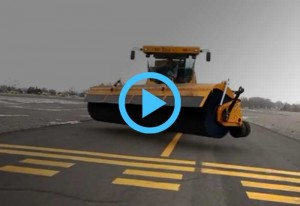 Kodiak Airport Runway Sweeper Broom